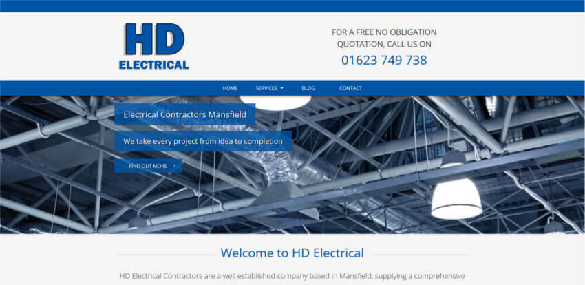 HD Electrical Website