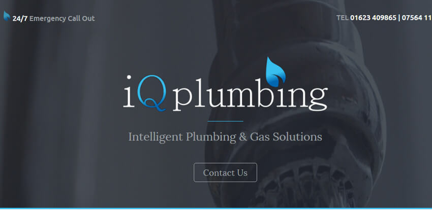 IQ Plumbing Website