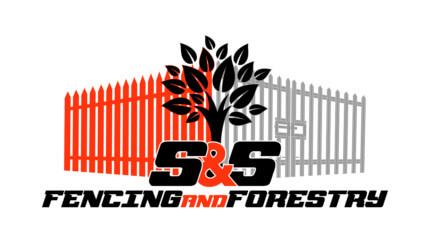 S&S Fencing & Forestry Logo