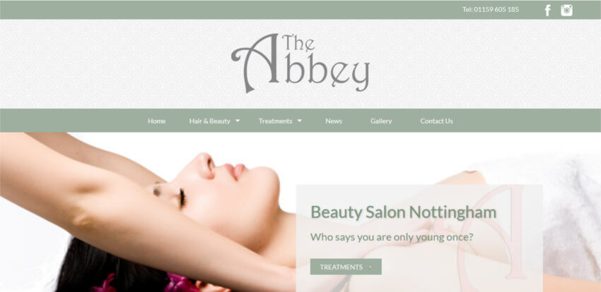 The Abbey Website