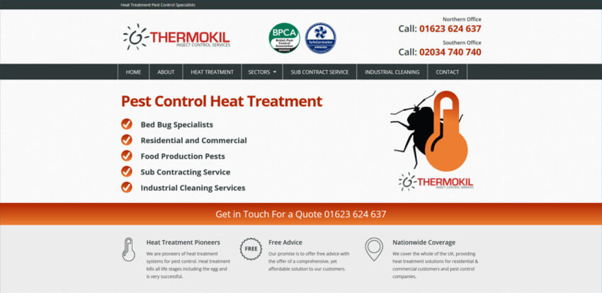Thermokil Insect Control Services