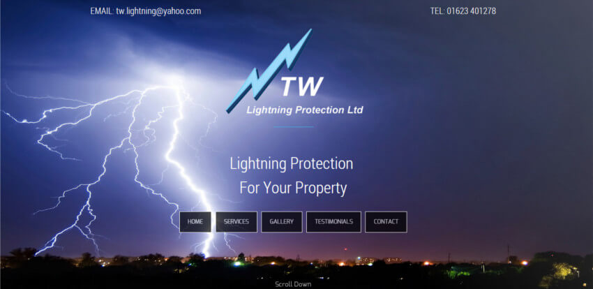 TW Lightning Website