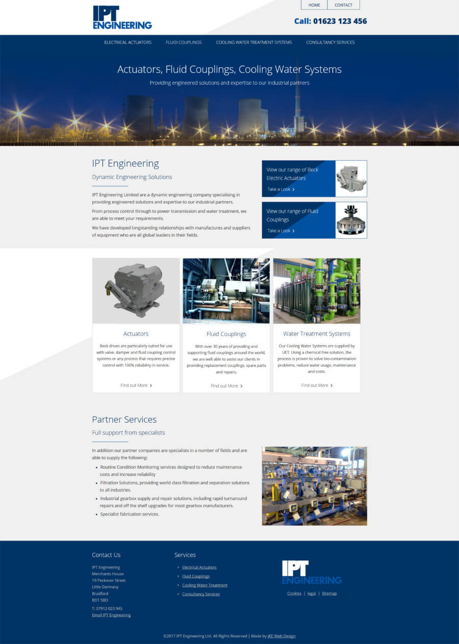IPT Engineering website